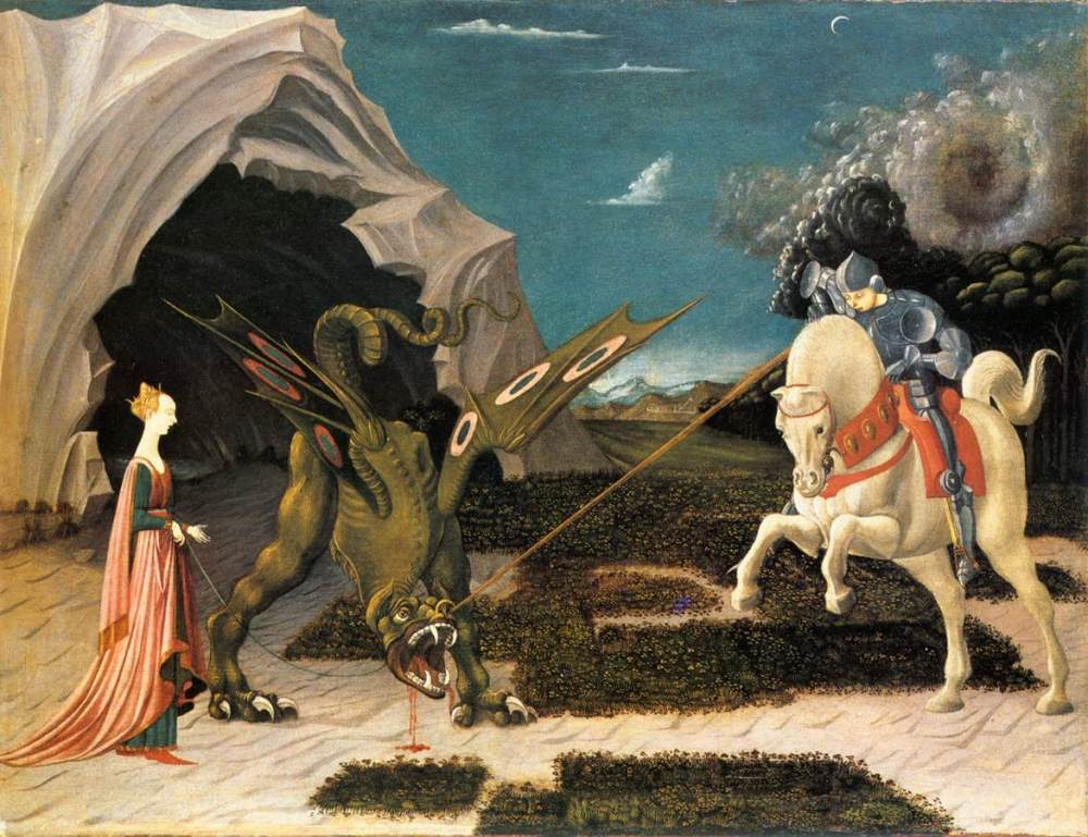 St. George and the Dragon: Embracing Our Own Inner Demons