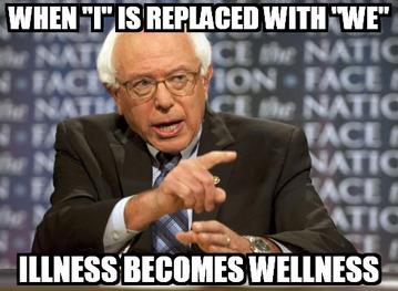 Bernie we